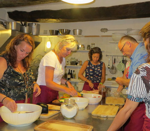 Cookery school Italy Marche